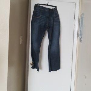 Denim Jean's hydraulic